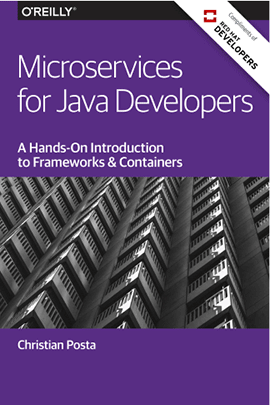 Microservices for Java Developers Graphic