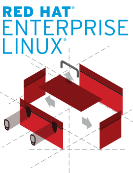 Red Hat Enterprise Linux graphic