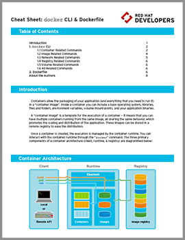 Containers cheat sheet cover