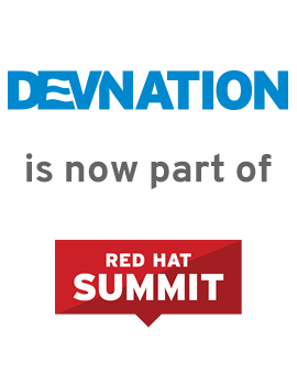 DevNation promo graphic