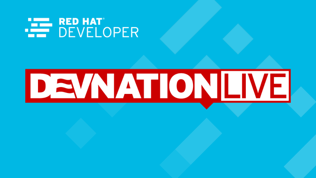 DevNation Live: Red Hat Enterprise Linux 8