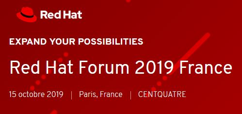 Meet the Geeks at Red Hat Forum Paris