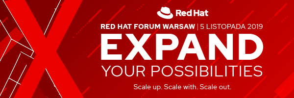 Developers at Red Hat Forum Poland