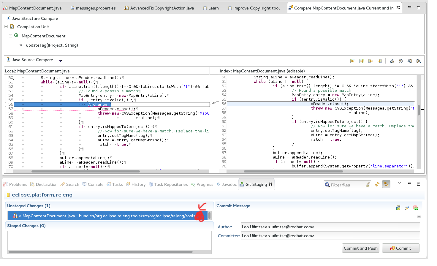 Eclipse EGit for git repo management - Red Hat Developer