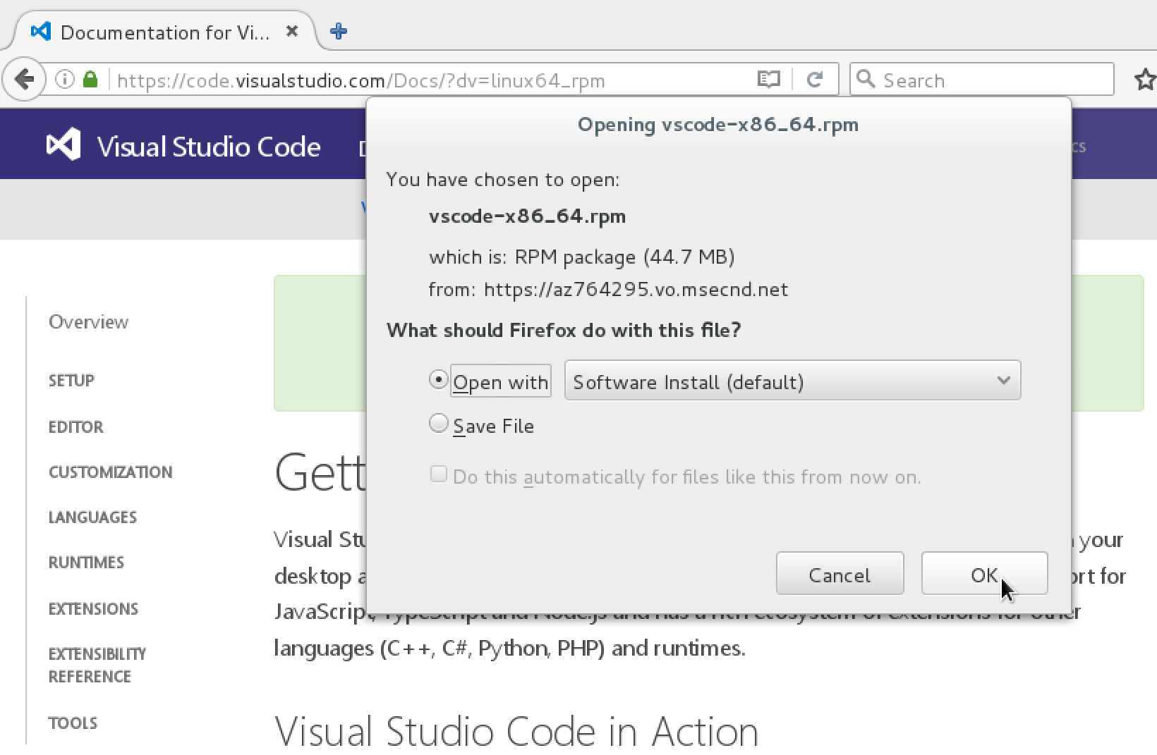 Edit, Compile and Debug  NET on Linux using VS Code - Red