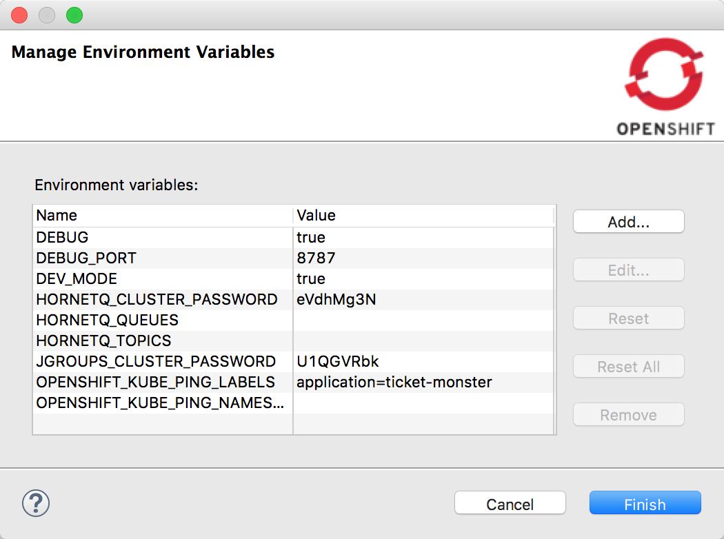 Manage Environment Variables