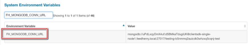 Manage your Mongo Databases in RHMAP with Mongo Express