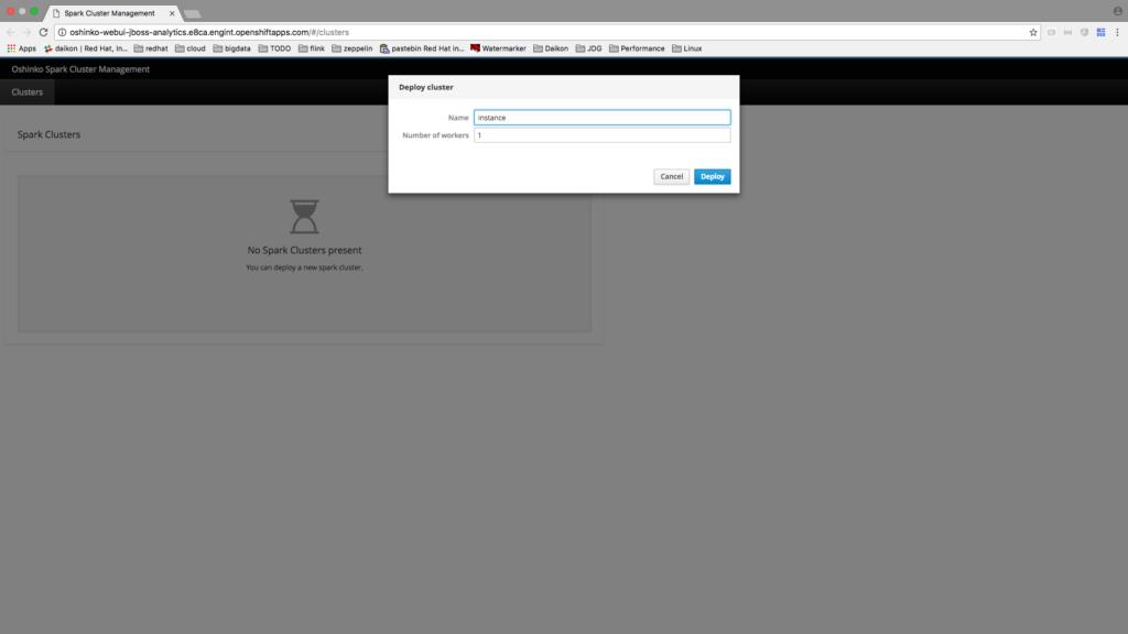 Running Spark Jobs On OpenShift - Red Hat Developer Blog