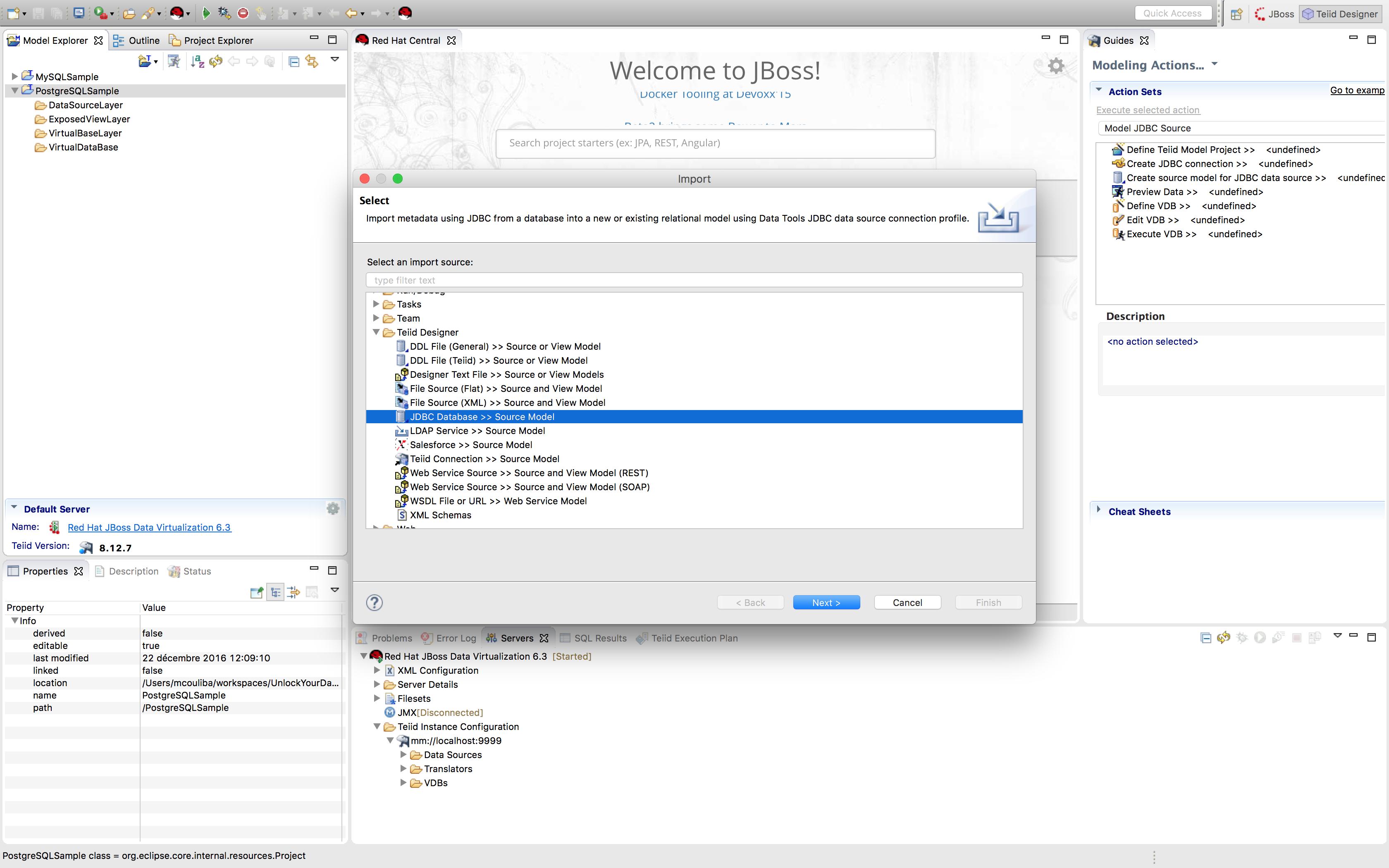 Unlock your PostgreSQL data with Red Hat JBoss Data