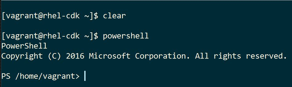 PowerShell on RHEL in One Minute - Red Hat Developer