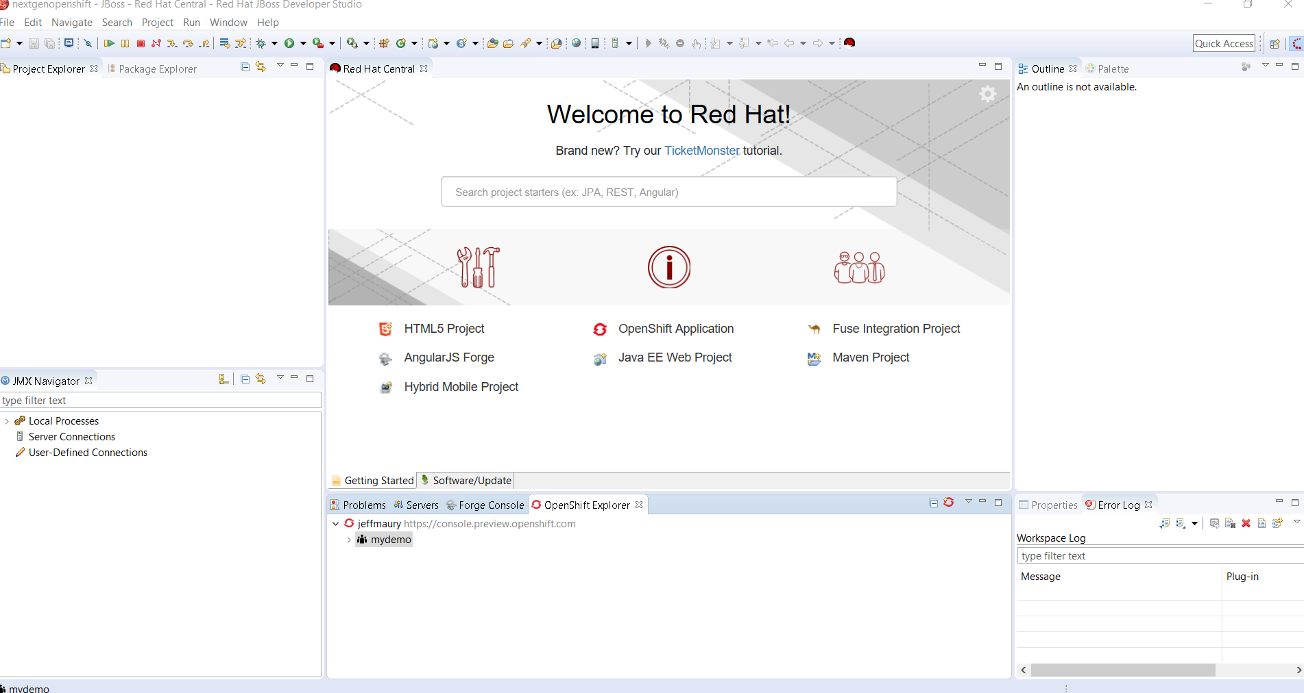 Develop and deploy on openshift next gen using red hat jboss deploying the jboss enterprise application platform based application red hat xflitez Gallery
