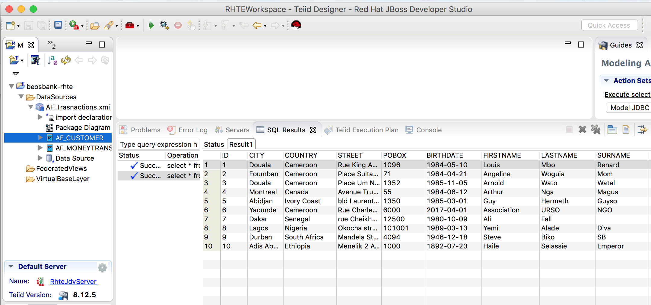 JBoss DataVirtualization: Preview Source Table