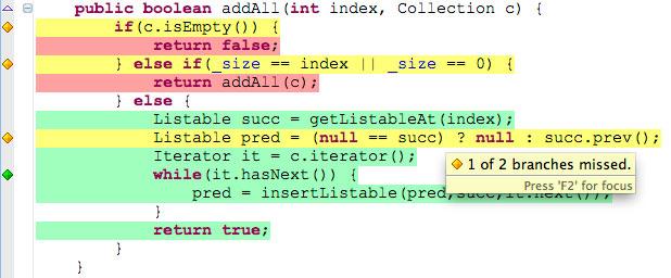 Java Code Coverage in Eclipse - DZone Java