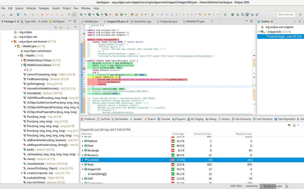 Java code coverage in Eclipse - Red Hat Developer Blog