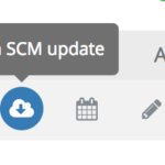 SCM update icon