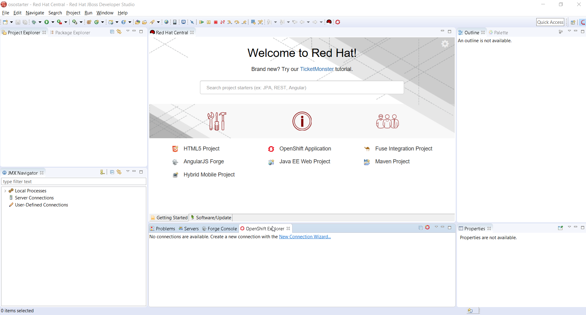 Develop and deploy on openshift online starter using red hat jboss define openshift online starter connection baditri Gallery