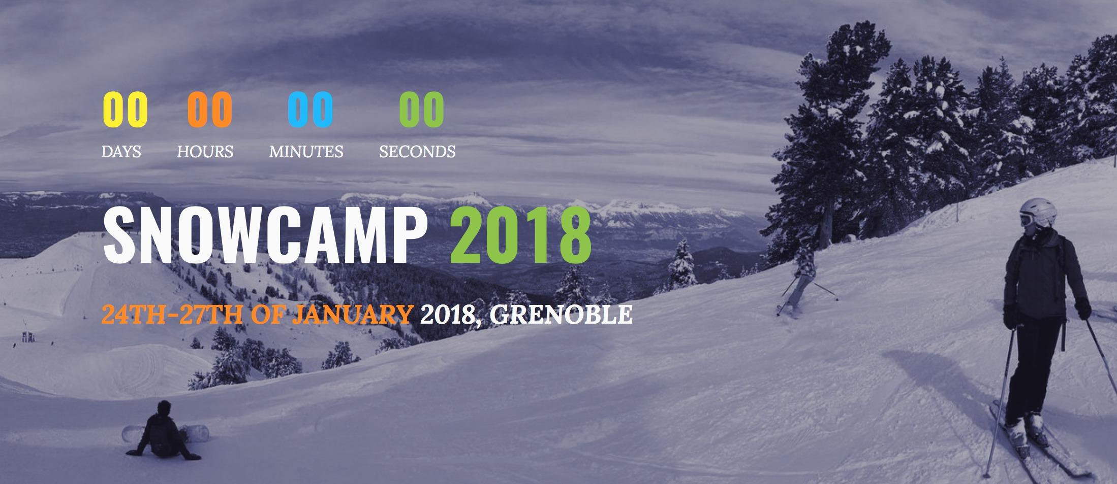 SnowCamp 2018 Trip Report