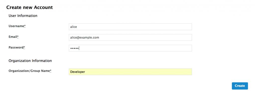 3scale developer account form