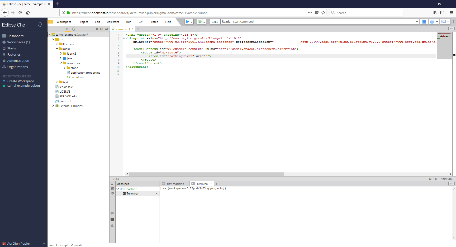 Apache camel uri completion easy installation for eclipse vs code click on the yellow top left arrow malvernweather Image collections