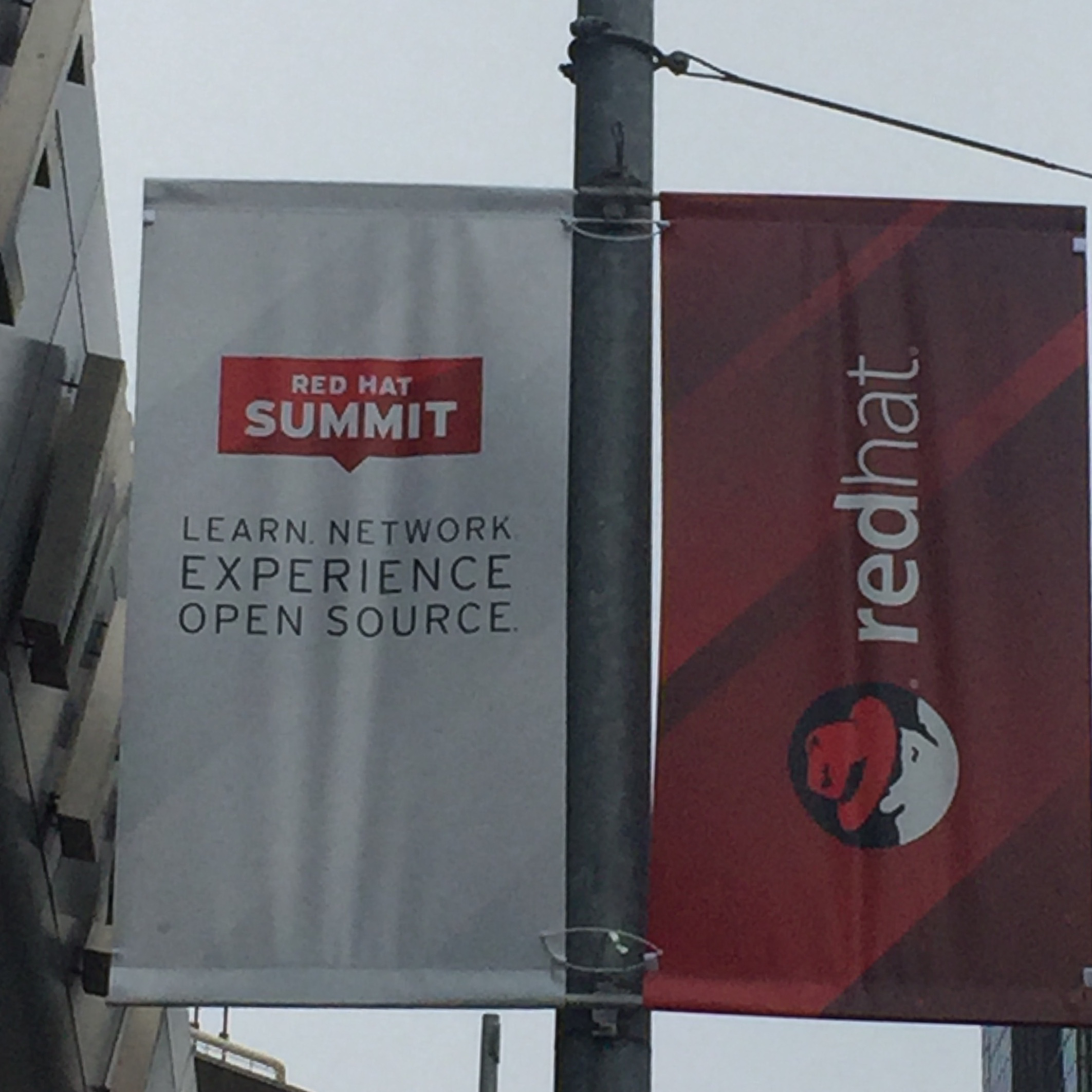 Street Signs for the Red Hat Summit