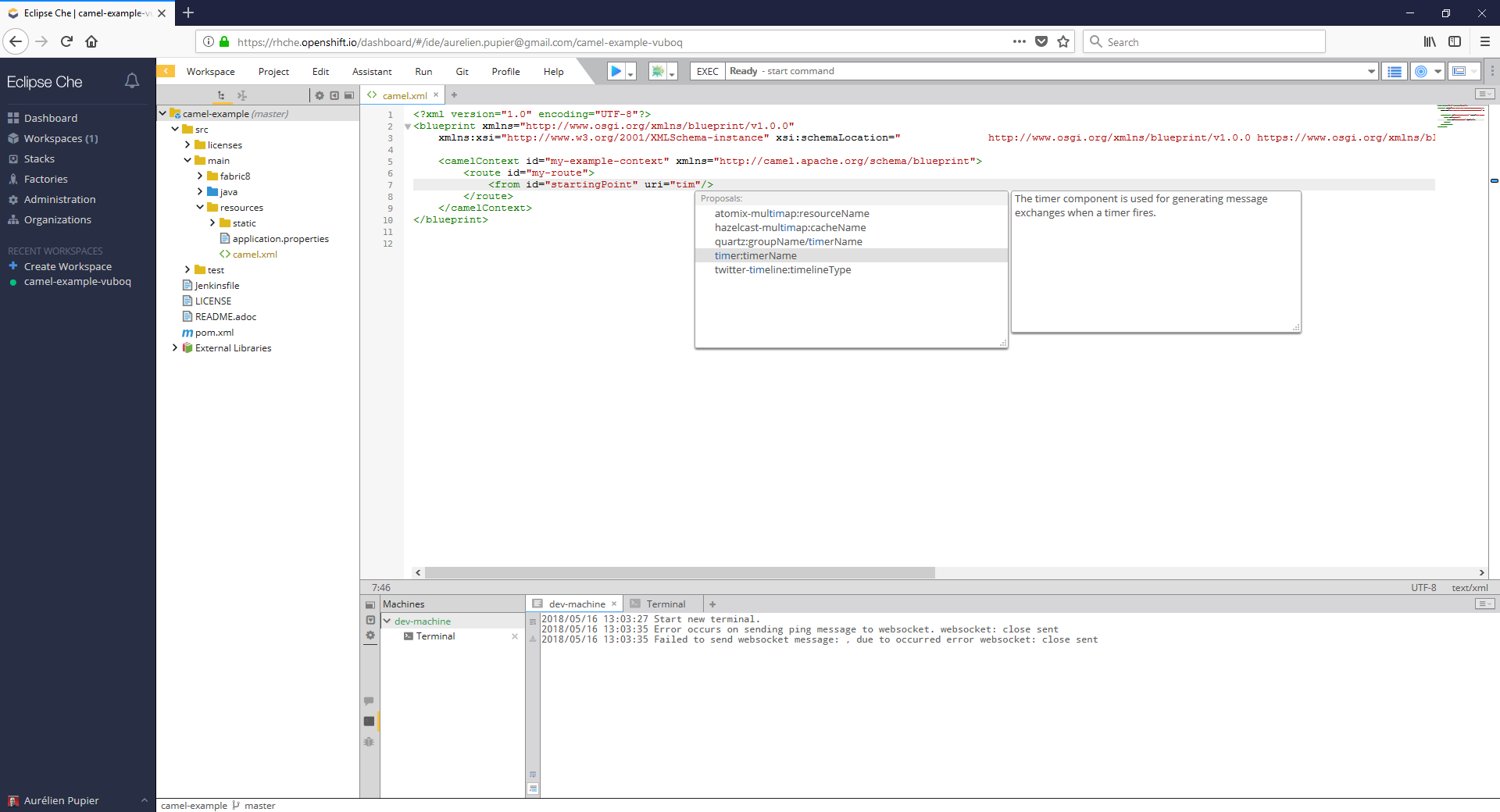 Apache camel uri completion easy installation for eclipse vs code enjoy malvernweather Choice Image