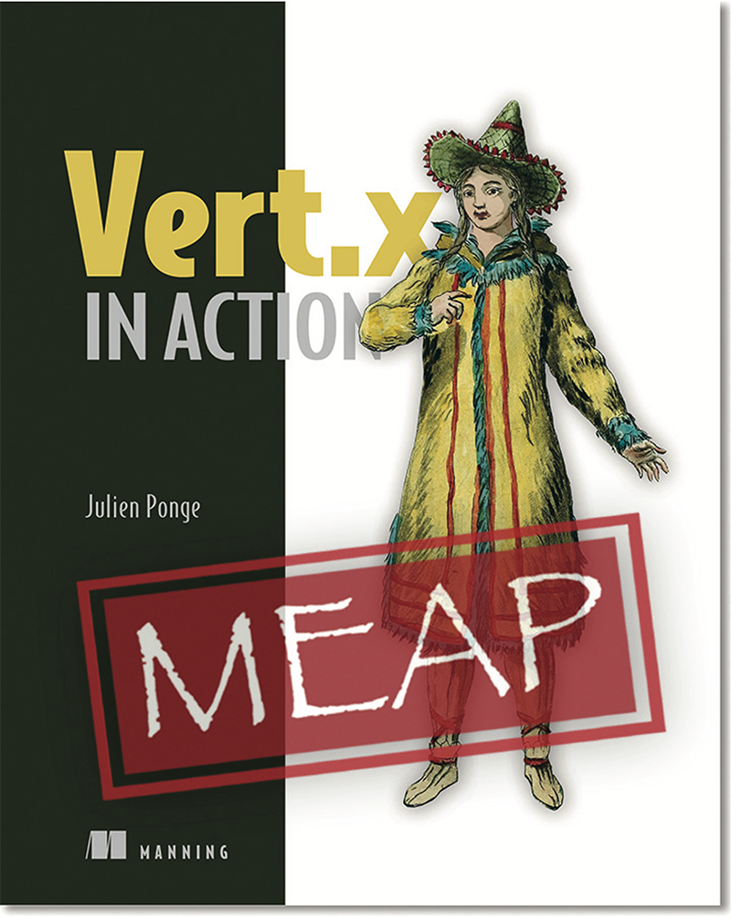 Upcoming Book: Vert.x in Action (MEAP)
