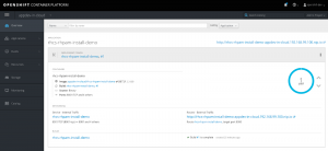 The container instance of Red Hat Process Automation Manager on OpenShift Container Platform