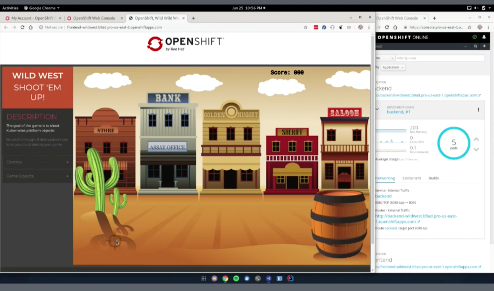 Kubernetes: The retro-style, Wild West video game