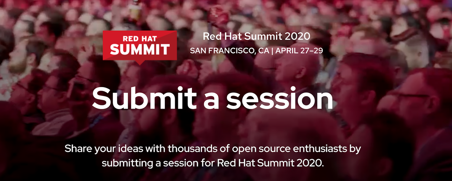 Red Hat Summit 2020: Call for Proposals for new developer track