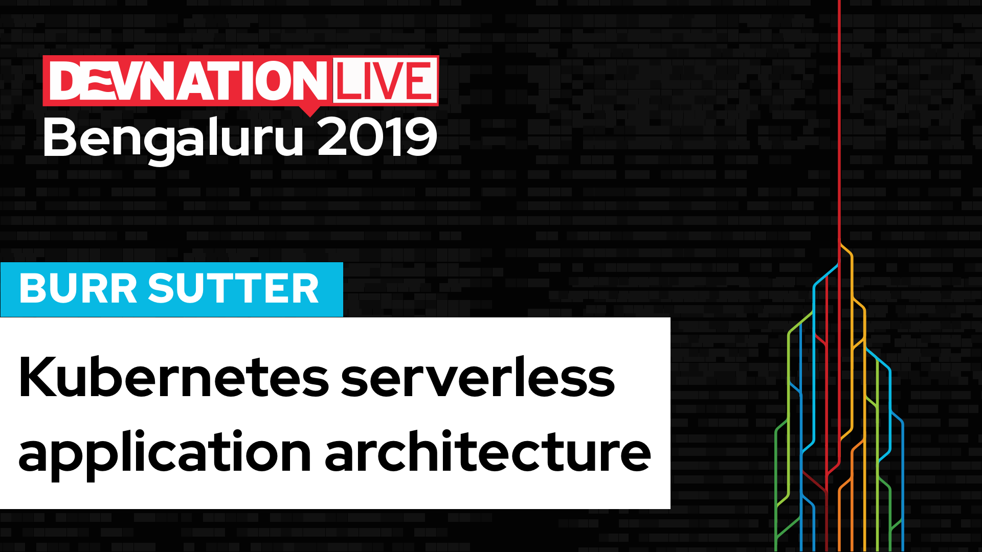 DevNation Live Bengaluru: Kubernetes serverless application architecture