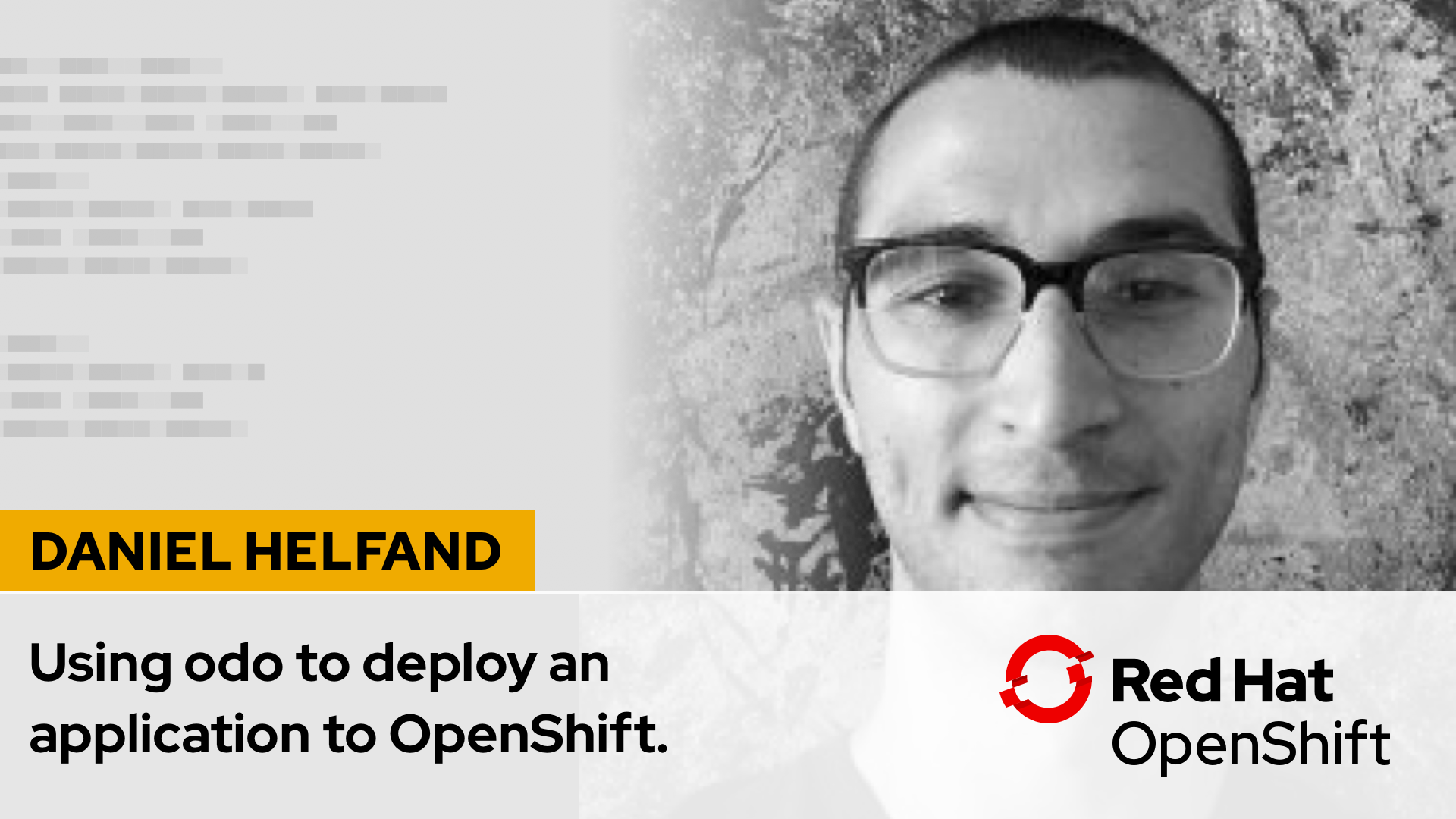 How to use odo the developer-centric CLI with OpenShift 4