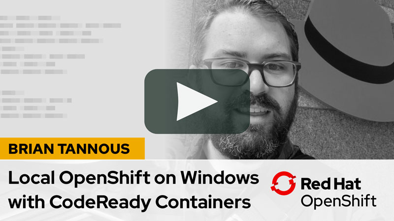 Red Hat CodeReady Containers overview for Windows and macOS