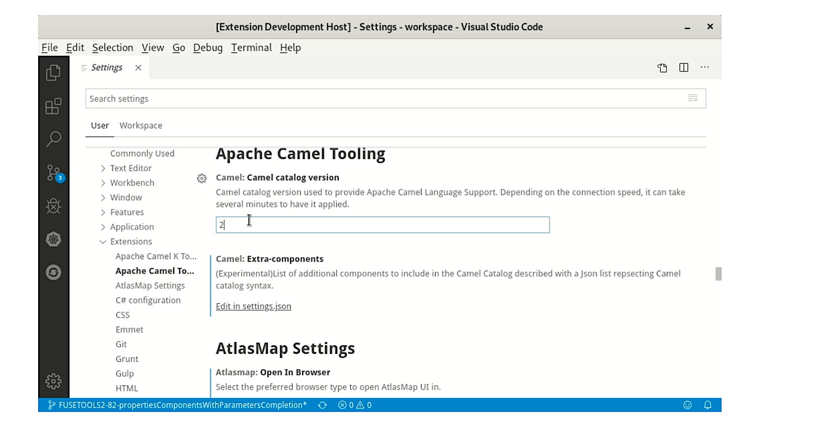 VS Code Language support for Apache Camel 0.0.20 release
