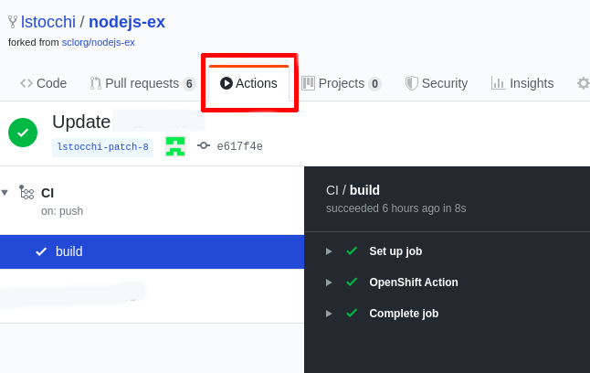 OpenShift Actions: Deploy to Red Hat OpenShift directly from your GitHub repository