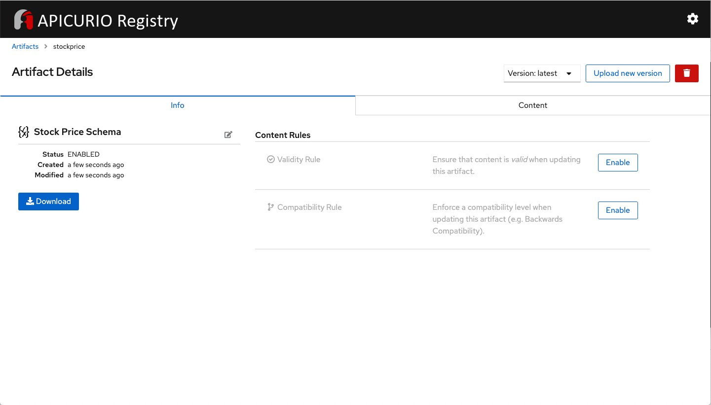 First look at the new Apicurio Registry UI and Operator