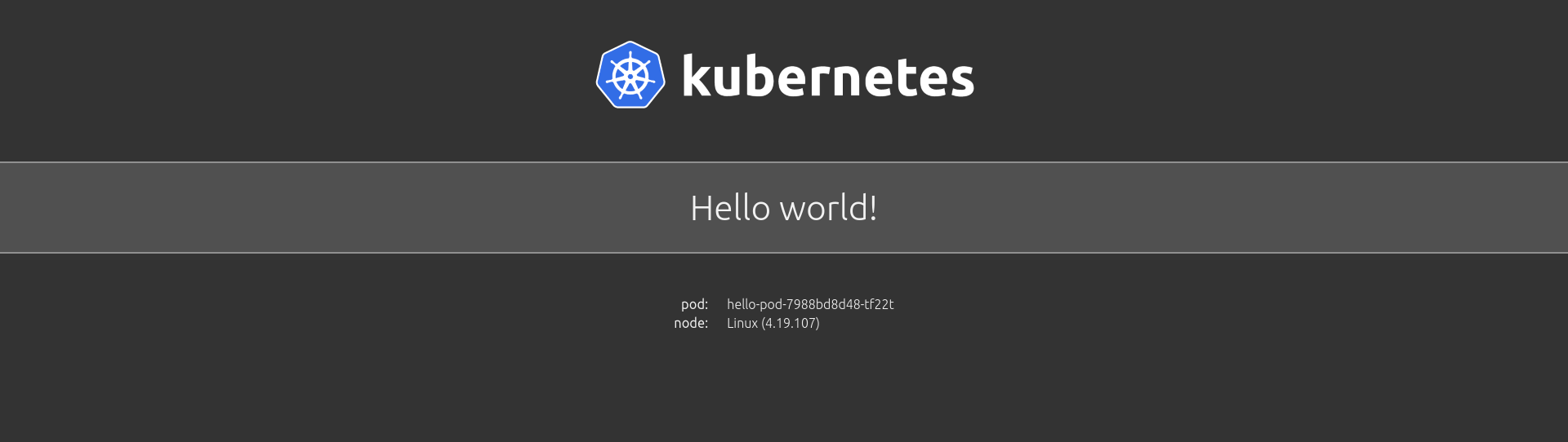 'Hello, World' tutorial with Kubernetes Operators