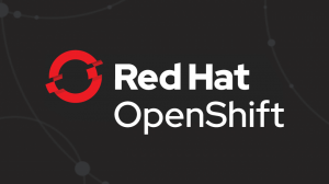 The Red Hat OpenShift logo.