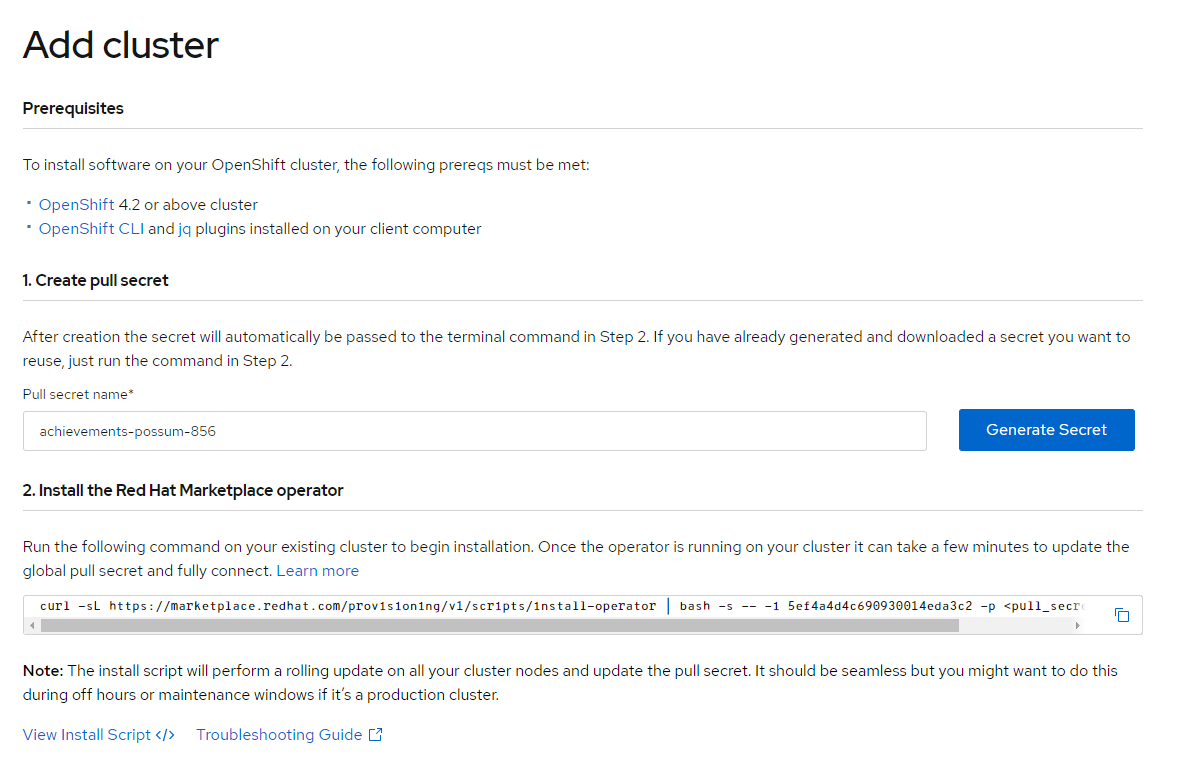 How to install the CouchbaseDB Operator for Red Hat OpenShift on your laptop using Red Hat CodeReady Containers and Red Hat Marketplace