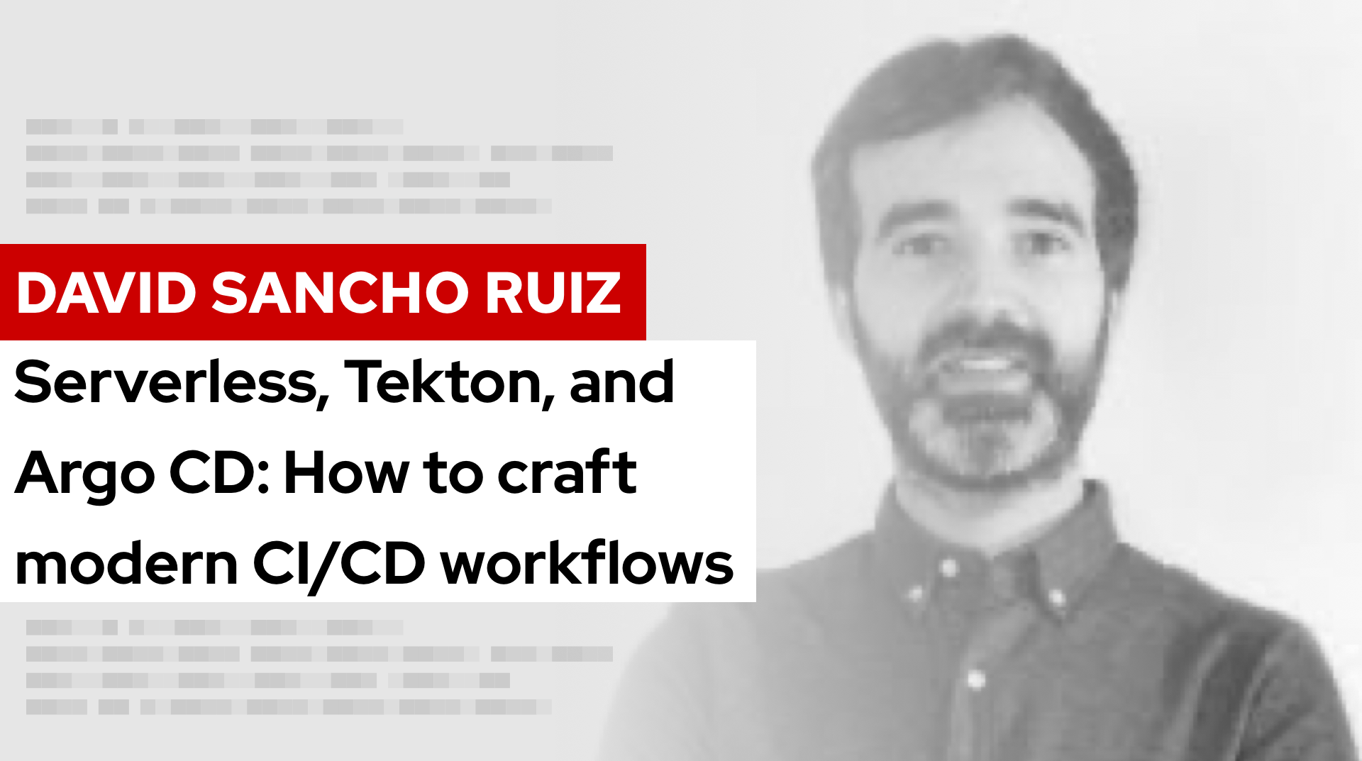 Serverless, Tekton, and Argo CD: How to craft modern CI/CD workflows | DevNation Tech Talk