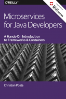 microservices for java developers cover page