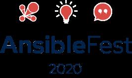 Ansiblefest 2020 hero logo