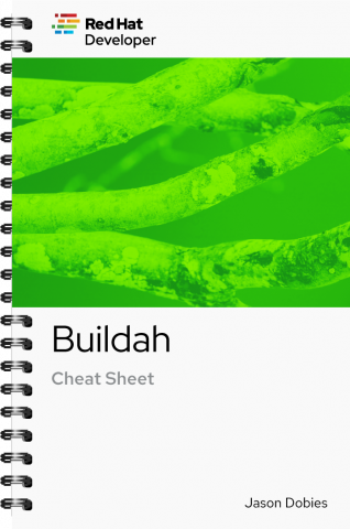Buildah cheat sheet cover