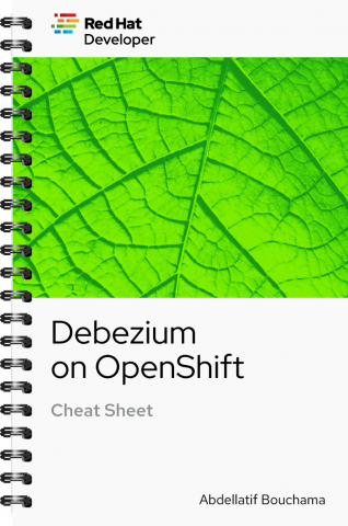 Debezium Cheat Sheet Cover