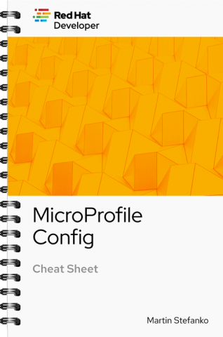 MicroProfile Config Cover