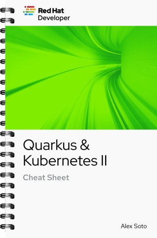 Quarkus & Kubernetes II Cheat Sheet