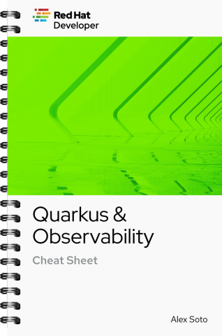 Quarkus Observability Cheat Sheet cover
