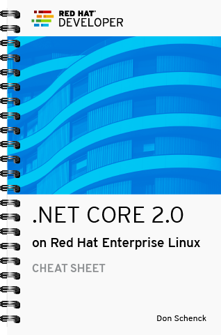 .NET Core 2.0 Cheat Sheet Cover