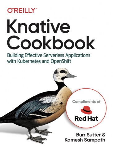 Knative Cookbook cover