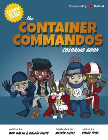 Container Commandos Coloring Book cover