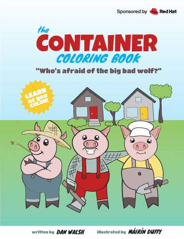 The Container Coloring Book cover